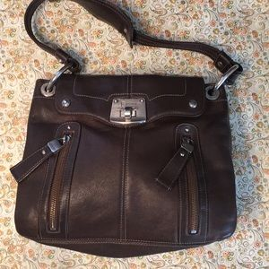 B MAKOWSKY  Vintage Hobo Shoulder Bag.